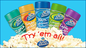 Kernel Season's Popcorn Seasonings